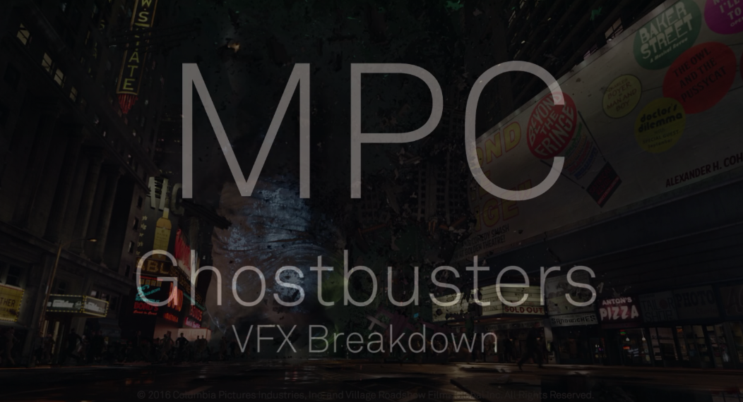 MPC Ghostbusters VFX breakdown