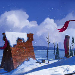 Vikings – Snowy Village